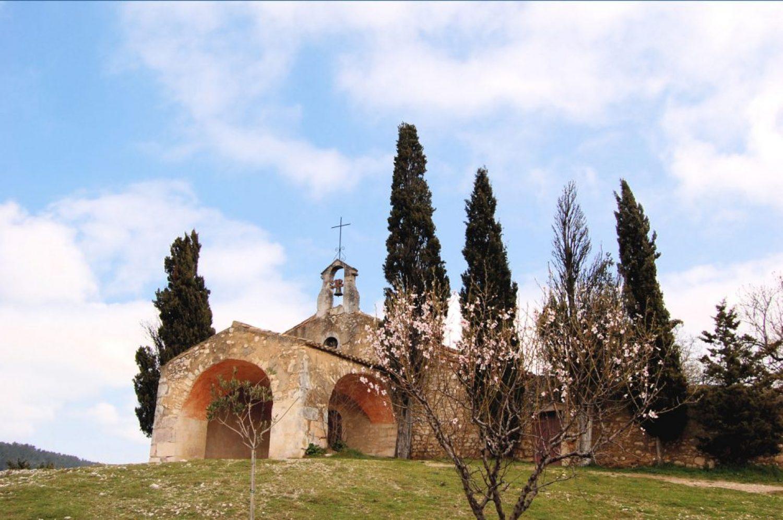 Alpilles Chapel Saint-Sixte