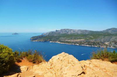 Cassis mar Mediterráneo