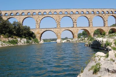 El puente del Gard
